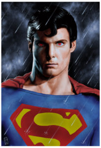 Superman Red Eyes (Christopher Reeve)