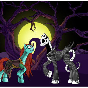 Nightmare Before Christmas Pony