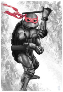 TMNT – Michelangelo Red