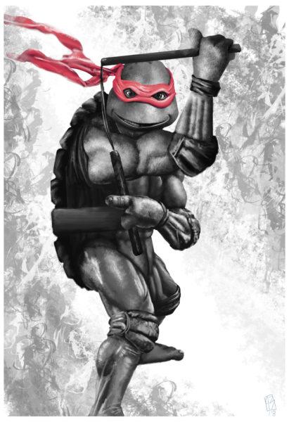 TMNT – Michelangelo Red