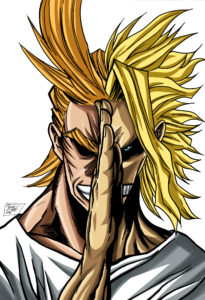 All Might Face