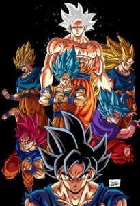 Goku Stages