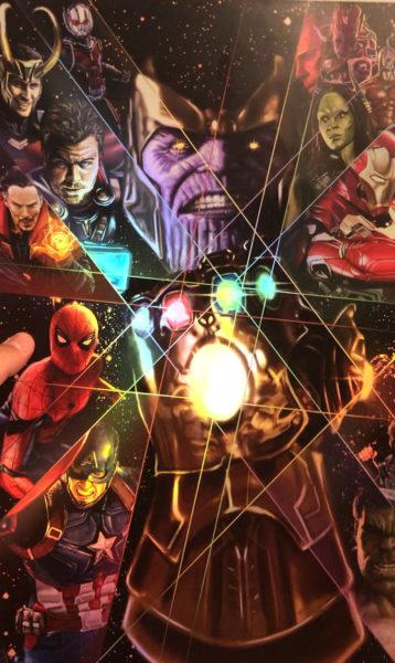 Thanos Infinity War Holo