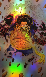One Piece – Luffy Gear 4 Holo