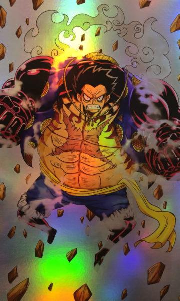 One Piece – Luffy Gear 4 Holo