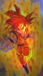 Goku God Holo