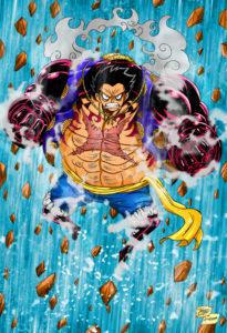 One Piece – Luffy Gear 4