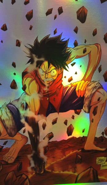 One Piece – Luffy Punch Holo