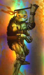 TMNT – Michelangelo Holo