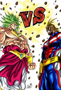 Al Might vs Broly