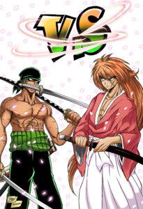 Zoro vs Kenshin