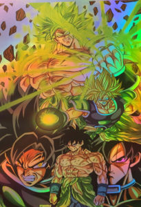 Broly Movie Holo