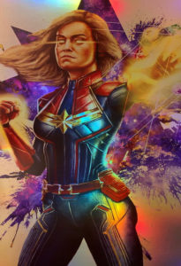 Captain Marvel Holo