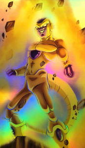 Golden Frieza Holo