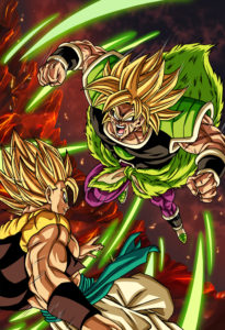 Broly Punch Gogeta Holo