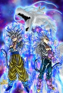 Goku Vegeta SSJ4 UI