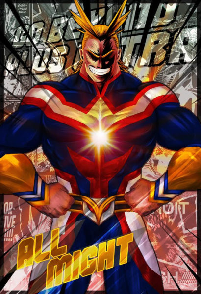 All Might Manga