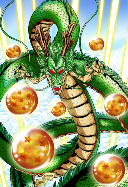 Shenron Dragon Holo