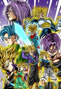 Trunks Stages Holo