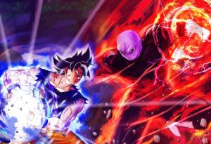 Goku UI vs Jiren Holo