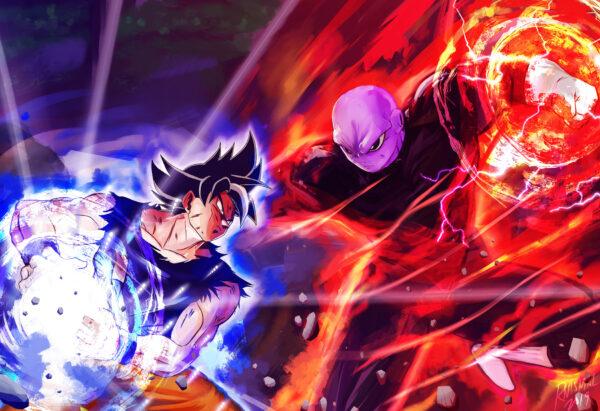 Goku UI vs Jiren