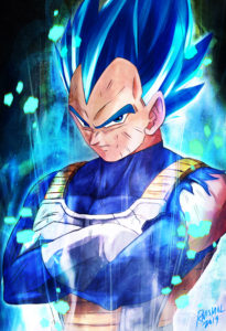 Vegeta Super Blue