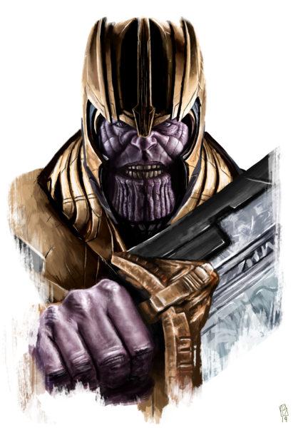 Thanos End Game Holo
