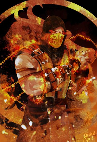 MK Scorpion Holo